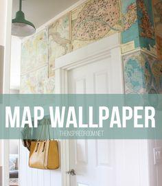 easy map wallpaper