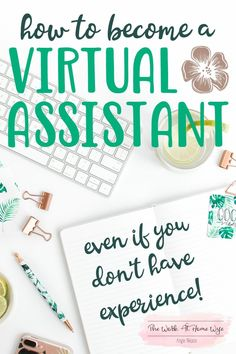 There is a large demand for remote business assistance. Check out these tips and resources if you are looking to become a virtual assistant.