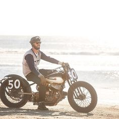 @50el_nick spending some time at the beach. Another great shot from @jaycagney by biltwell http://ift.tt/1BZNdAi