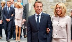 #CelebrityNews Brigitte Macron flaunts endless legs as she gets friendly with Angela Merkel in Germany #HotCelebrityNews360