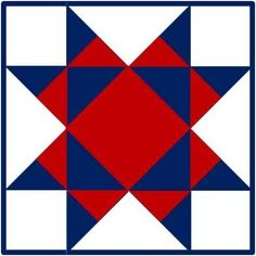 Barn Star Quilt Pattern | Click on the quilt pattern and a larger image will appear.