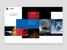 NASA Experience Concept designed by Evgeny Becker. Connect with them on Dribbble; Interface Web, User Interface Design, Website Design Layout, Web Layout, Best Web Design, Page Design, Ecommerce, Wordpress, Ui Web