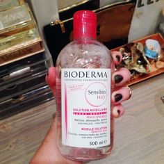 BEST HOUSEWARMING GIFT EVER! One of our #Birchbloggers  brought over this mega size #Bioderma for our Juliette's new apartment—all the way from Paris!