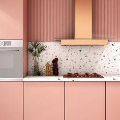 Domain Aug 2019 Terrazzo: Why this decor trend is still on-trend New Kitchen, Kitchen Decor, Kitchen Hacks, Deco Kids, Cuisines Design, Interior Design Kitchen, Interior Modern, Home Design, Interior Design Inspiration
