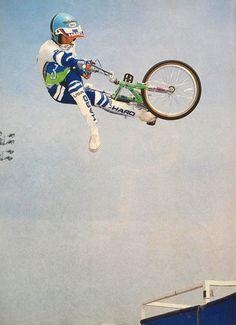 Dennis McCoy - Can-Can air!  /  AFA Master Series in Carson, CA - March '86