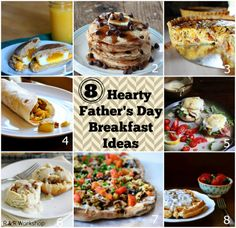 8 Hearty Father's Day Breakfast Ideas! #fathersday #breakfast #recipe