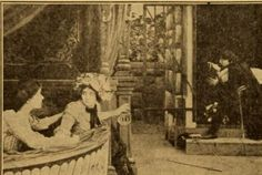 Still from the 1911 silent film Stage Struck.  The film is lost.