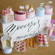 2018.07 Miniature Cakes Dollhouse ♡ ♡ By Dollhouse ♡ ♡ By Noecoro