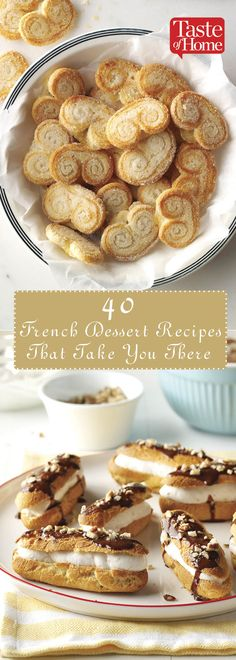 40 French Dessert Recipes That Take You There