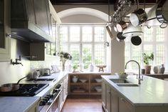 Mullion windows light bespoke kitchen furniture by Artichoke  Kitchen  American  Coastal  TraditionalNeoclassical by Artichoke