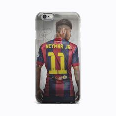 Barcelona Neymar Jr 11 TPU Silicon Rubber Case Cover iPhone 4 4S 5 5S 6 6s plus #Apple