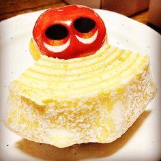 Baumchen.. #mizumushikun #baumchen #sweets #nom #yummy #character #cute #food #white #alien #foodie #nomnom