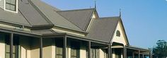 Woodland Grey Colorbond roofing