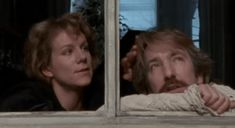 """Juliet Stevenson and Alan Rickman in """"Truly, Madly, Deeply"""" via GIPHY"""