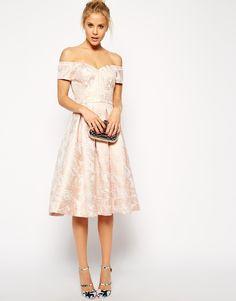 Enlarge ASOS Bandeau Debutante Midi Dress wedding dress?