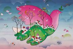 magico-ALEJANDRO COSTAS es un magnífico artista plástico argentino.