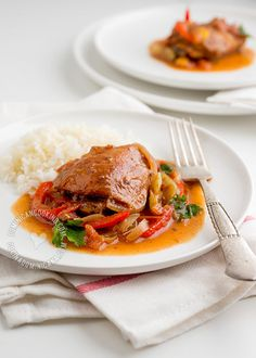 Pollo Guisado | Cocina Dominicana