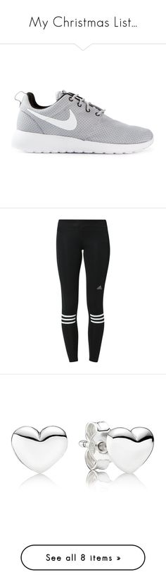 """""""My Christmas List..."""" by jesshorne2014 ❤ liked on Polyvore featuring shoes, sneakers, nike, trainers, grey shoes, nike footwear, gray sneakers, nike trainers, nike shoes and black"""