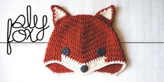 Sly Fox crochet hat pattern by Lisa Gutierrez - Free at goodknits.com