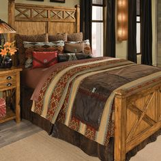 Decorating Problem: Large and Narrow Western Bedrooms | Stylish Western Home Decorating
