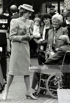11 March 1986 Princess Diana opens St Marys Day Centre for the elderly in Byfleet,  Surrey