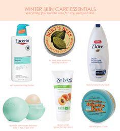 Winter Skin Care Essentials