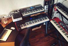 #keys #nord #moog #akai #roland #minitaur #novation #hypergoods #music #po by r_verleg