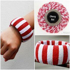 DIY bracelet by Cassandra Twineology by: Timeless Twine: Timeless Twine DIY Bracelet!