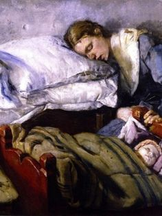 Christian Krohg (August 1852 – October was a Norwegian naturalist painter, illustrator, author and journalist. Skagen, Edvard Munch, Mothers Day Presents, Canvas Prints, Art Prints, Mother And Child, Mother Mother, Figure Painting, Contemporary Artists
