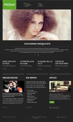 Photo Studio Responsive WordPress Theme wordpress website template