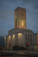 George's Dock Ventilation and Central Station of the Mersey Road Tunnel, Liverpool | by Dave Wood Liverpool Images