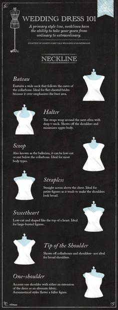 Wedding Dress 101: Necklines!