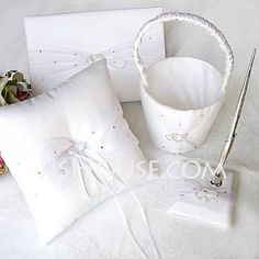 Wedding Ceremony Collection Set - $37.89 - Linked Hearts Collection Set With Rhinestones (100017952) http://jjshouse.com/Linked-Hearts-Collection-Set-With-Rhinestones-100017952-g17952?pos=best_selling_items_2