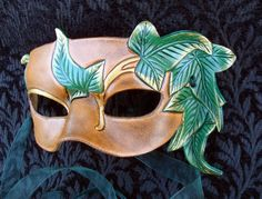 Elvish Leaf Mask by merimask.deviantart.com