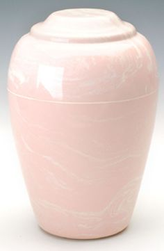 Pink Grecian Marble Cremation Urn