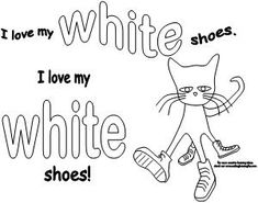 Pete the Cat colored shoes activity available at www.makinglearningfun.com.