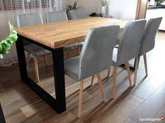Dębowy stół industrialny minimalistyczny loftowy małopolskie