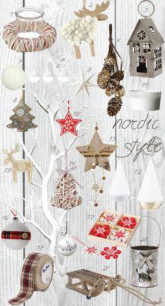 Nordic style Christmas -Σκανδιναβικό πνεύμα Χριστουγέννων