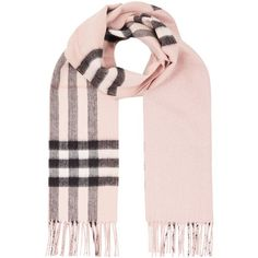 Burberry Metallic Check Scarf (15.290 UYU) ❤ liked on Polyvore featuring accessories, scarves, burberry shawl, cashmere shawls, metallic scarves, metallic shawl and checkered scarves