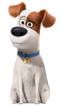 The Secret Life of Pets Max Transparent PNG Image