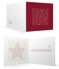 Weihnachtskarten Klappkarte Neujahrsgeschichte bei Familienmomente
