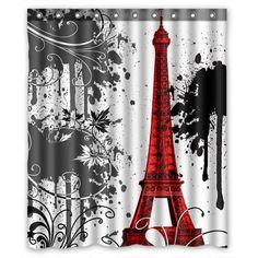 Achetez GCKG Eiffel Tower Waterproof Polyester Shower Curtain Bathroom Decor 48x72 inches à Walmart Canada. Magasinez plus de Rideaux de douche disponible en ligne à Walmart.ca.