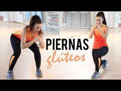 Tonificar y endurecer glúteos y piernas - YouTube