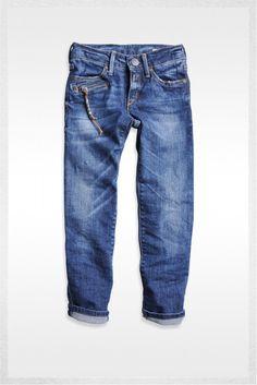 Denim trouser - Skinny Fit denim   Jeans   Girl   FW12   Replay & Sons   REPLAY Online Shop