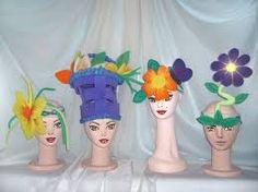 Resultado de imagen para sombreros locos para niños+moldes Crazy Hats, Disney Characters, Fictional Characters, Disney Princess, Art, Beanies, Art Background, Kunst, Performing Arts