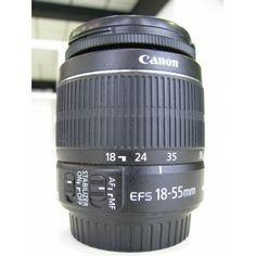 "SE VENDE: ""Objetivo Canon 18 - 55 mm"" http://reestrenando.es/160-objetivo-canon-18-55-mm-.html"