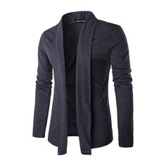 2016 new autumn fashion brand cardigan men leisure solid color cardigan lapel Slim knit men sweaters