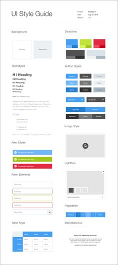 style guide template Pin by Shanice Brand on styleguide elements Graphisches Design, App Ui Design, Design System, User Interface Design, Layout Design, Design Elements, Website Style Guide, Web Style Guide, Brand Style Guide