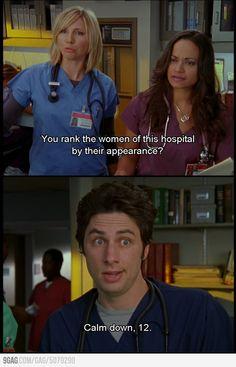 Hahaha gotta love Scrubs :)