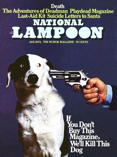 National Lampoon, January 1973. Cover photo by Ronald G. Harris.